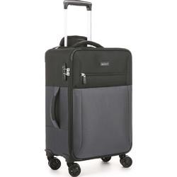 Antler Haze Small/Cabin 56cm Softside Suitcase Black 45326