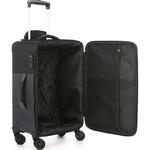 Antler Haze Small/Cabin 56cm Softside Suitcase Black 45326 - 3