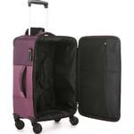 Antler Haze Small/Cabin 56cm Softside Suitcase Aubergine 45326 - 3
