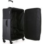 Antler Haze Softside Suitcase Set of 3 Black 45315, 45316, 45326 with FREE GO Travel Luggage Scale G2006 - 4