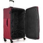 Antler Haze Softside Suitcase Set of 3 Burgundy 45315, 45316, 45326 with FREE GO Travel Luggage Scale G2006 - 4