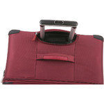 Antler Haze Softside Suitcase Set of 3 Burgundy 45315, 45316, 45326 with FREE GO Travel Luggage Scale G2006 - 5