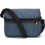 "Pacsafe Metrosafe X Anti-Theft 12.3"" Laptop Messenger Bag Dark Denim 30630"