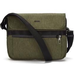 """Pacsafe Metrosafe X Anti-Theft 12.3"""" Laptop Messenger Bag Utility Green 30630"""