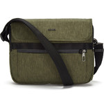 "Pacsafe Metrosafe X Anti-Theft 12.3"" Laptop Messenger Bag Utility Green 30630"