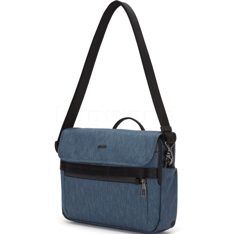 Details about Pacsafe Metrosafe X 8 Litre Anti Theft Recycled Messenger Bag Utility