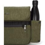 """Pacsafe Metrosafe X Anti-Theft 12.3"""" Laptop Messenger Bag Utility Green 30630  - 8"""