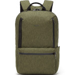 "Pacsafe Metrosafe X Anti-Theft 15.6"" Laptop & Tablet Backpack Utility Green 30640"