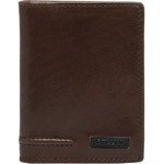 Cellini Men's Viper RFID Blocking Stitch Leather Wallet Brown MH210