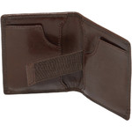 Cellini Men's Viper RFID Blocking Stitch Leather Wallet Brown MH210 - 3