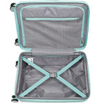 American Tourister Curio Small/Cabin 55cm Hardside Suitcase Mint Green 87999 - 2
