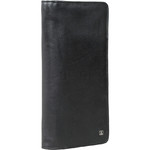 Artex Great Escape Leather Passport Wallet Black 40813