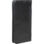 Artex Great Escape Leather Passport Wallet Black 40813 - 1
