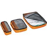 GO Travel Packing Cubes Triple Pack Orange GO286 - 1
