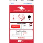 Luggage Leash Multi Purpose GPS Locator & Tracker Black 10008 - 5