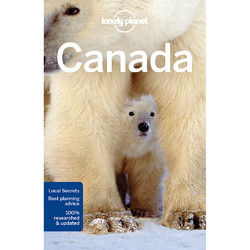 Lonely Planet Canada Travel Guide Book L5710