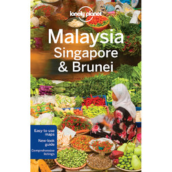Lonely Planet Malaysia, Singapore and Brunei Travel Guide Book L7081