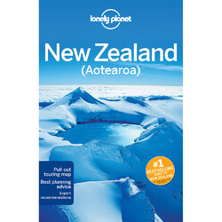 Lonely Planet New Zealand Travel Guide Book L5352