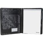 Artex Work Capsule A4 Leather Folder Black 40361