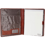 Artex Work Capsule A4 Leather Folder Brown 40361