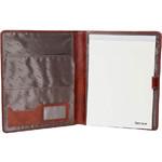 Artex Work Capsule A4 Leather Folder Brown 40361