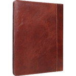 Artex Work Capsule A4 Leather Folder Brown 40361  - 2