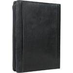 Artex Top Gun A4 Leather Ziparound Compendium with Binder Black 40365 - 2