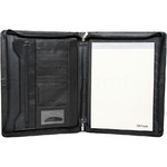 Artex Business Buddy A4 Leather Ziparound Compendium Black 40366