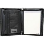 Artex Business Buddy A4 Leather Ziparound Compendium Black 40366