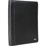 Artex Business Buddy A4 Leather Ziparound Compendium Black 40366 - 1
