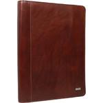 Artex Business Buddy A4 Leather Ziparound Compendium Brown 40366 - 1