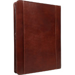 Artex Business Buddy A4 Leather Ziparound Compendium Brown 40366 - 2