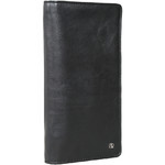 Artex Top Flight Leather Passport Wallet Black 40814