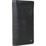 Artex Top Flight Leather Passport Wallet Black 40814