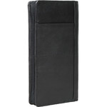 Artex Top Flight Leather Passport Wallet Black 40814 - 1