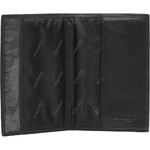 Artex Globe Trotter Leather Passport Cover Black 40806 - 5