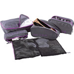 American Tourister Travel Accessories 5-in-1 Travel Pouch Purple 55139 - 1