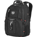 "High Sierra Lisbon 16.4"" Laptop Backpack Black 29384"