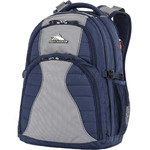 "High Sierra Reverb 15.6"" Laptop RFID Blocking Backpack Navy 29390"