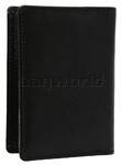 Cellini Ladies' Tuscany Leather Card Holder Wallet Black WOM23 - 1