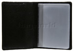 Cellini Ladies' Tuscany Leather Card Holder Wallet Black WOM23 - 2