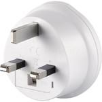 GO Travel Adaptor Plug Australia to UK White GO560 - 1