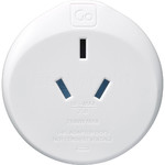 GO Travel Adaptor Plug Australia to UK White GO560 - 2