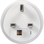GO Travel Adaptor Plug Australia to UK White GO560 - 3