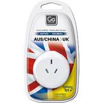 GO Travel Adaptor Plug Australia to UK White GO560 - 4