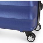Antler Juno Metallic DLX Medium 68cm Hardside Suitcase Blue 71016 - 6