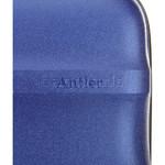 Antler Juno Metallic DLX Medium 68cm Hardside Suitcase Blue 71016 - 7