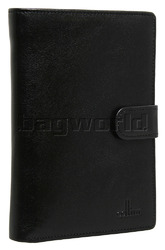 Cellini Ladies' Tuscany Large Book Leather Wallet Black TA074