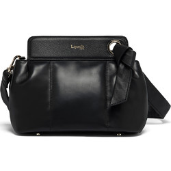 Lipault Noelie Leather Crossbody Bag Black 25822