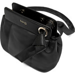 Lipault Noelie Leather Crossbody Bag Black 25822 - 3